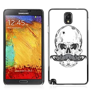 YOYOSHOP [Cool Skull & Moustache ] Samsung Galaxy Note 3 Case