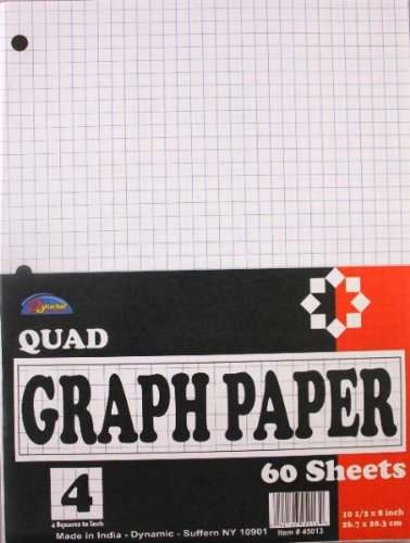 Graph Paper 60 Count 90 pcs sku# 1455138MA by DDI