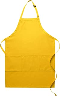 product image for DayStar Apparel Three Pocket Butcher Apron - Style 223 (6, Yellow)