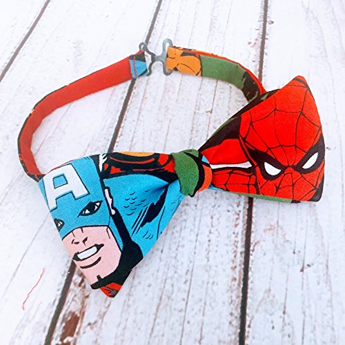 Marvel Super Hero Bow Tie for Adults and Kids