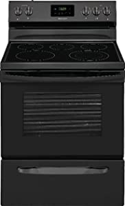 """Frigidaire FFEF3052TB 30"""" Electric Smooth Top Freestanding Range Manual Clean"""