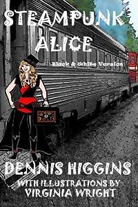 Steampunk Alice B&W: The Black & White Version