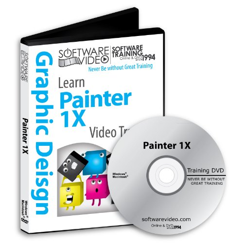 Used, Software Video Learn Corel Painter iX Training DVD for sale  Delivered anywhere in USA