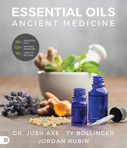 Essential Oils: Ancient Medicine, Hardcover Spiral-Bound Book