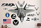 Fathead F-22 Raptor Real Decals