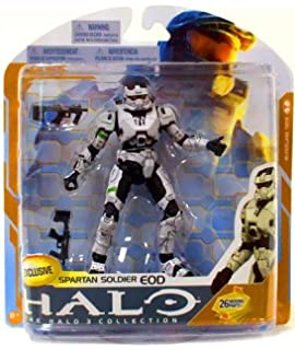 Red Figure Series 4 EOD Spartan Soldier McFarlane Halo 3