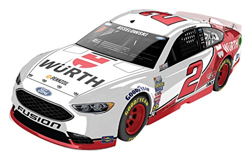 Lionel Racing Brad Keselowski #2 Wurth 2017 Ford Fusion 1:24 Scale ARC HOTO Official Diecast of the Monster Energy NASCAR Cup Series