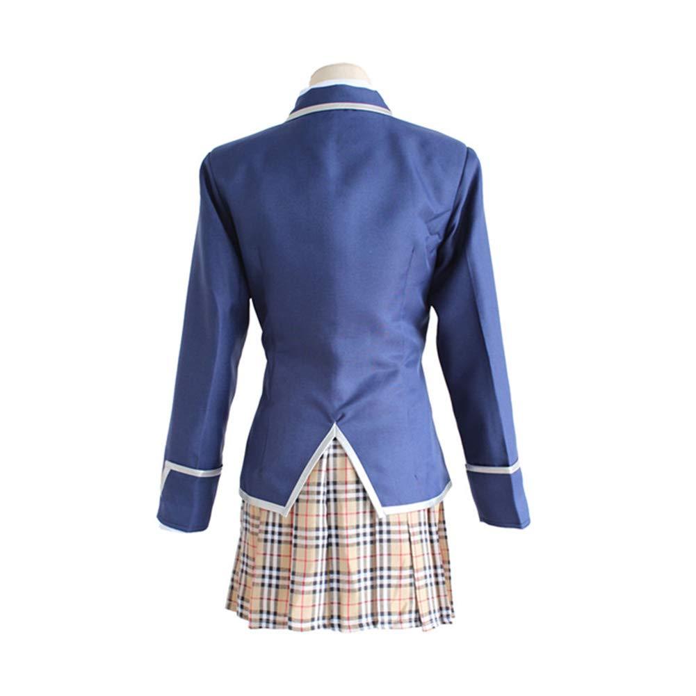 MOOM Uniforme niña de la Escuela Japonesa, Nakiri Erina para Mujer ...