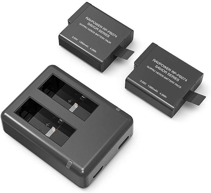 Batería RAVPower 10050 mAh cargador portátil de al aire libre resistente al agua a prueba de