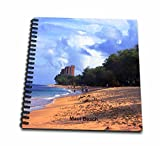Sandy Mertens Hawaii Travel Designs - Maui Beach - Memory Book 12 x 12 inch (db_26340_2)