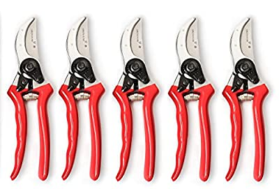 Green Heart Garden Bypass Pruning Shears with Premium Carbon Blades and Safety Lock Parent