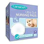 Lansinoh Ultra Soft Disposable Nursing Pads, For Breastfeeding Mothers, Leak Proof Protection, Maximum Comfort and Discretion, Gentle for Nursing Mothers, 36 Count