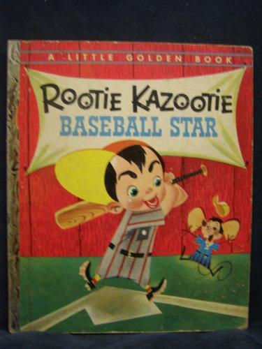 Rootie Kazootie Baseball Star. A Little Golden Book (Rootie Kazootie Detective)