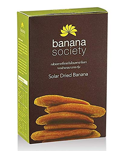 Banana Society Solar Dried Banana 450g. by Grocery & Gourmet Food (Image #1)
