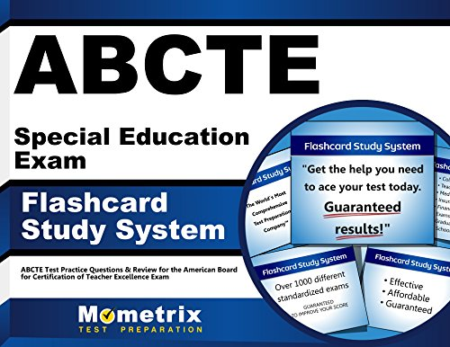 ABCTE Special Education Exam Flashcard Study System: ABCTE Test Practice Questions & Review for the American Board for Certification of Teacher Excellence Exam (Cards)