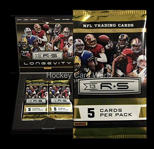 - 2013 Panini Rookies & Stars Longevity Hobby Football Pack - Autos Jerseys
