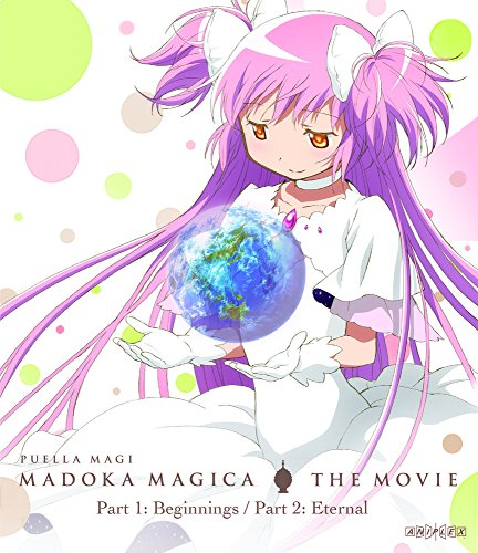 Puella Magi Madoka Magica the Movie Part 1 & 2 BLURAY (Standard Edition) by Aniplex USA