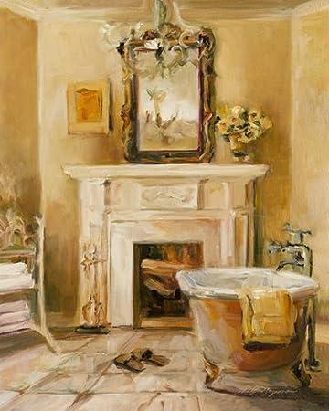 Digitaldruck / Poster Marilyn Hageman   French Bath I   90 X 112.5cm    Premiumqualität