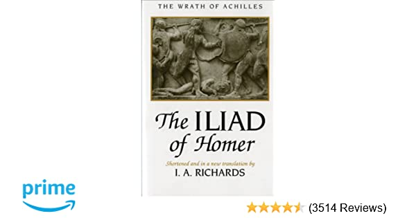 Amazon the iliad of homer 9780393001013 homer i a amazon the iliad of homer 9780393001013 homer i a richards books fandeluxe Images