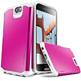 Evocel HTC One A9 [Dual Layer Series] Hybrid Armor Protector Case For HTC One A9 / HTC Aero - Retail Packaging, Magenta (EVO-HTCA9-SA17)