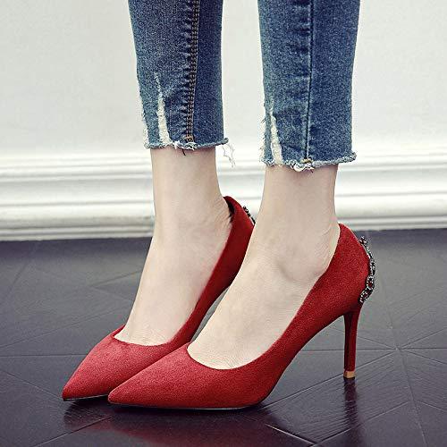 Scarpe Meiren Da 36 Donne Sexy Stiletto Tacco Alto Principessa Autunno Sposa 0Y0qr