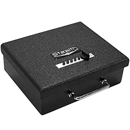 Stealth Original Handgun Safe Steel Pistol Box Concealed Weapon Storage