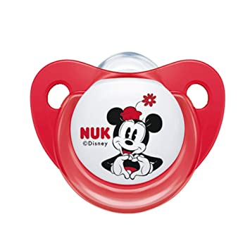 Amazon.com: NUK Disney Mickey Baby Pacifier 0 – 6 meses Niña ...