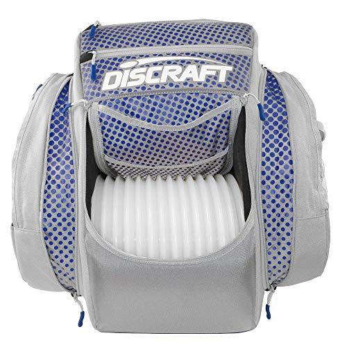 Discraft Grip EQ BX2 Buzzz Backpack Disc Golf Bag - Gray/Blue