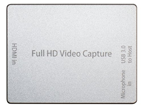 HornetTek HDMI Video Capture Device / Video Game Recorder with Mic Input USB 3.0 1080P 60 FPS Video & Audio Grabber by HornetTek (Image #5)