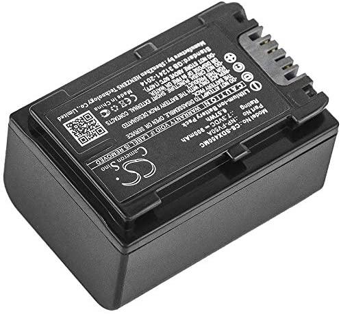 Sony FDR-AX45 Sony FDR-AX700 and Others Sony HDR-CX450 Sony HDR-CX680 Sony NEX-VG30 Sony HDR-PJ675 Sony FDR-AX60 Sony HDR-CX625 900mAh Replacement Battery for Sony FDR-AX40
