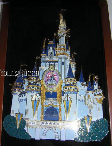 Disney 50th Anniversary Giant Castle Pin in Display Box