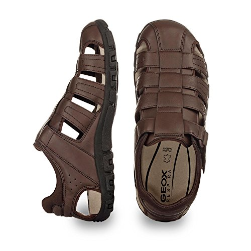 Geox Sandals Brown Dark Fashion Men's 8TAqrw8F