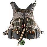 Mesh Fly Fishing Vest (Adjustable Size)