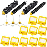 TOPCHANCES Vacuum Cleaner Replacement Brush Series Replace Kit for iRobot Roomba 700 Series 760 761 770 780 790 ,17 pcs Replacement Roomba Vacuum cleaning Accessories Kits