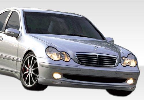 2001-2007 Mercedes Benz C Class W203 Duraflex LR-S 2 Front Lip Under Spoiler Air Dam - 1 Piece