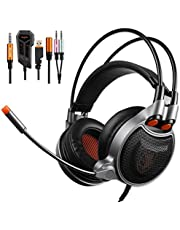 Sades SA-929 Gaming Headphones With 7.1 Virtual Channel Audio conversion Line Headset USB Plug 3.5MM Interface For Mobile phone/PC/PS4 …