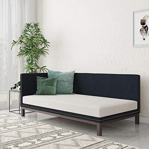 DHP Dale Upholstered Daybed/Sofa Bed Frame
