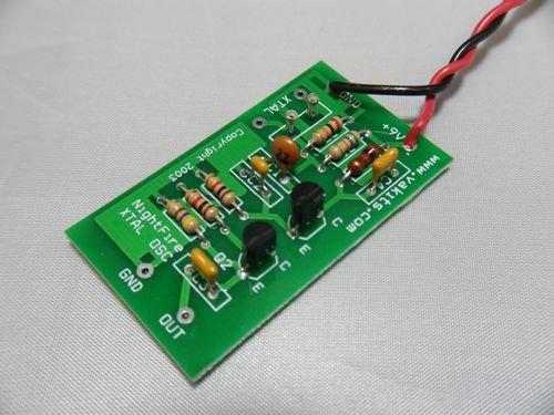 NightFire Colpitts Crystal Oscillator Kit
