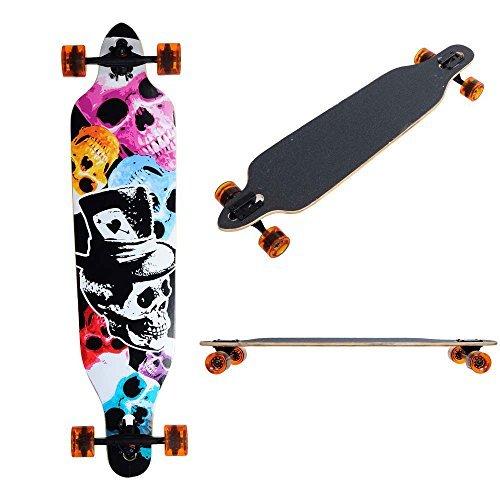 高い品質 MegaBrand 41in MegaBrand Longboard Skateboard Complete Color 41in Skull Skull [並行輸入品] B06XNBP1KJ, イエローマーケットサーフショップ:ec0bca22 --- a0267596.xsph.ru