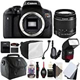 Canon EOS Rebel T6 18MP Digital SLR Camera with 18-55mm EF-IS STM Lens , SFD-740C Speedlite Flash and Accessory Kit
