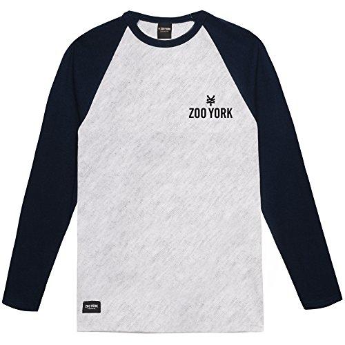 grey Manga Zoo Camiseta Hombre Ghn Heather Larga Templeton Para York navy De Grey 66ZfTqU
