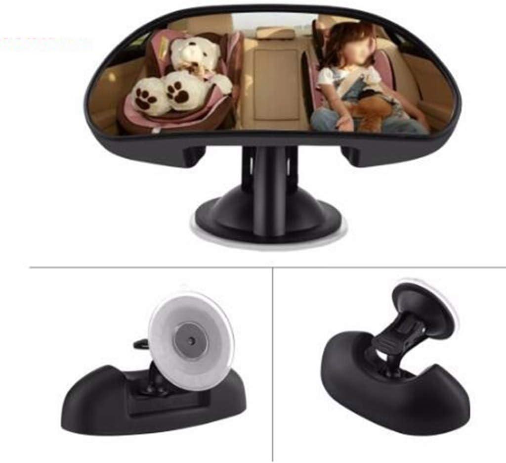 BLUEDYYY Baby-Autospiegel f/ür den R/ücksitz Freie Sicht auf das Kind in der R/ückansicht des Autositzes Weitsicht 360 /° verstellbar Bruchsicherer Kugelspiegel Sicherheit