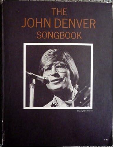 John Denver Songbook Piano Vocal Guitar All Guitar Strums And