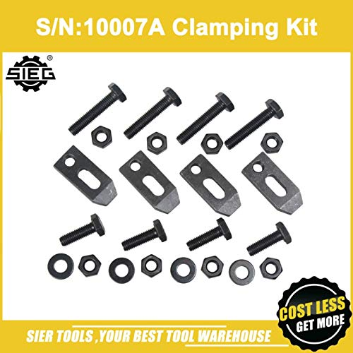 Maslin!/S/N:10007A Clamping Kit for Face Plate/SIEG C2/C3/SC2/SC3 M8 Clamping kit