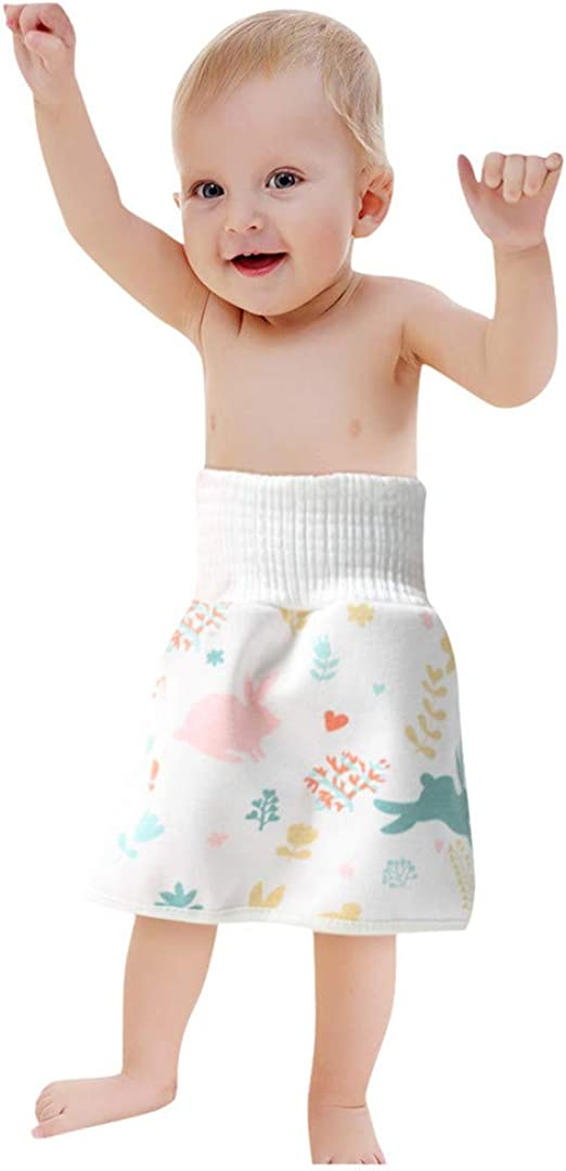 Du/šial Comfy Childrens Diaper Skirt Shorts 2 in 1 Waterproof and Absorbent Shorts for Baby Toddler New