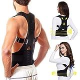 Men Women Magnetic Belt Therapy Corset Back Posture Corrector Shoulder Back Support Posture Correction