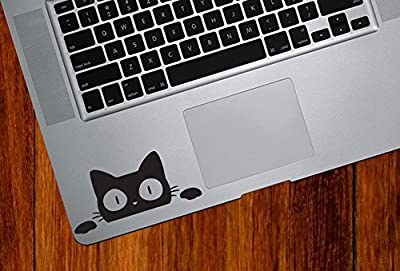 Surprise Cat Peeking . . . Vinyl Macbook Laptop Decal Sticker