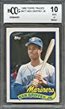 1989 topps traded #41t KEN GRIFFEY JR seattle mariners rookie card BGS BCCG 10 Graded Card