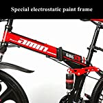 Novokart-Sport-PieghevoleMountain-Bike-2426-Pollici-6-taglierina-Rosso