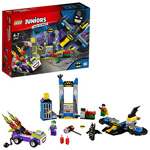 LEGO Juniors DC Super Heroes - The Joker Batcave Attack Comics Costruzioni